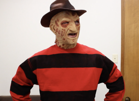 Freddie Krueger Arrives in Hell